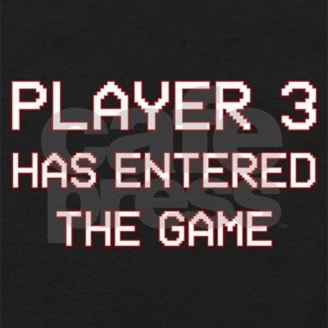 player_3_has_entered_the_game_baby_bodysuit